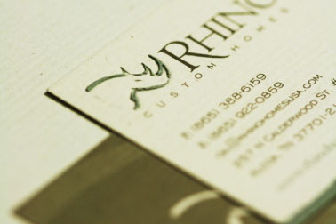 Rhino Homes Business Cards