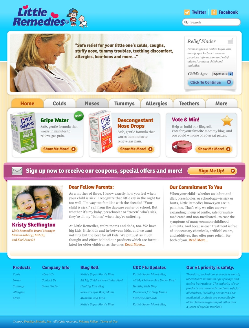 Little Remedies Homepage