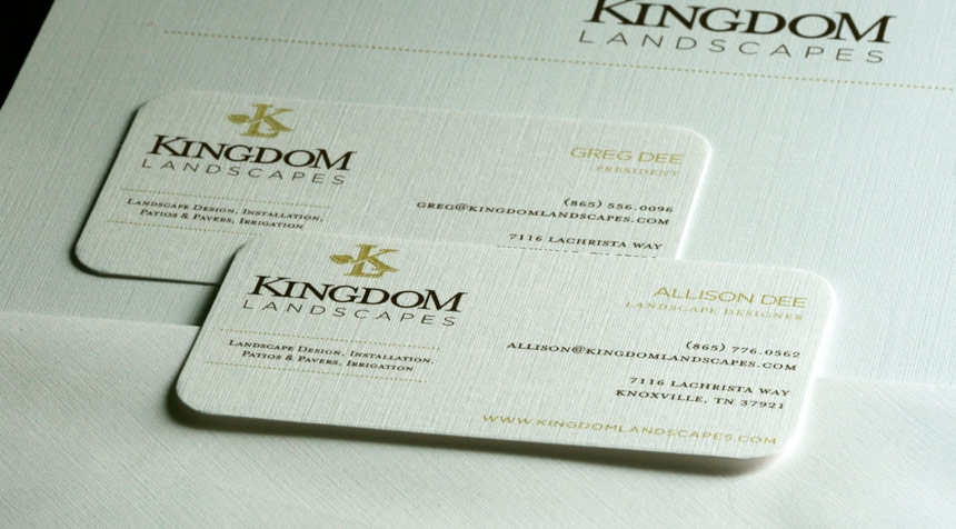 Kingdom Landscapes Stationary