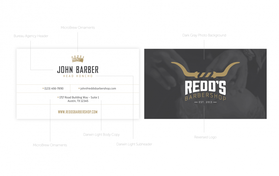 Redd's Business Card