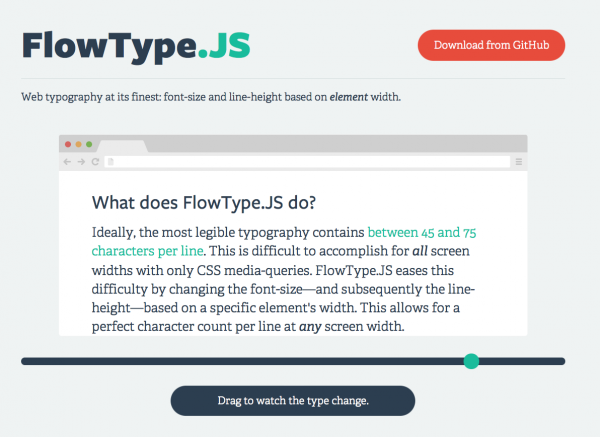 Flowtype Js Makin Responsive Type Easy Blog Fortyseven Media