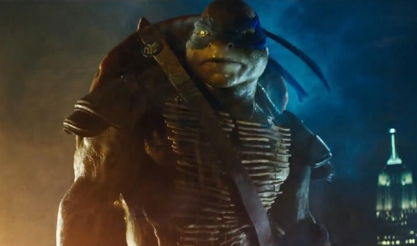 Leonardo from the Teenage Mutant Ninja Turtles Movie