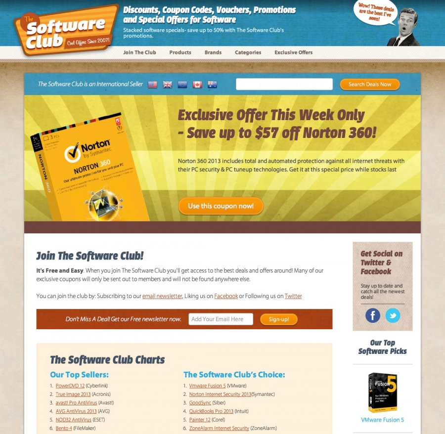 The Software Club Homepage