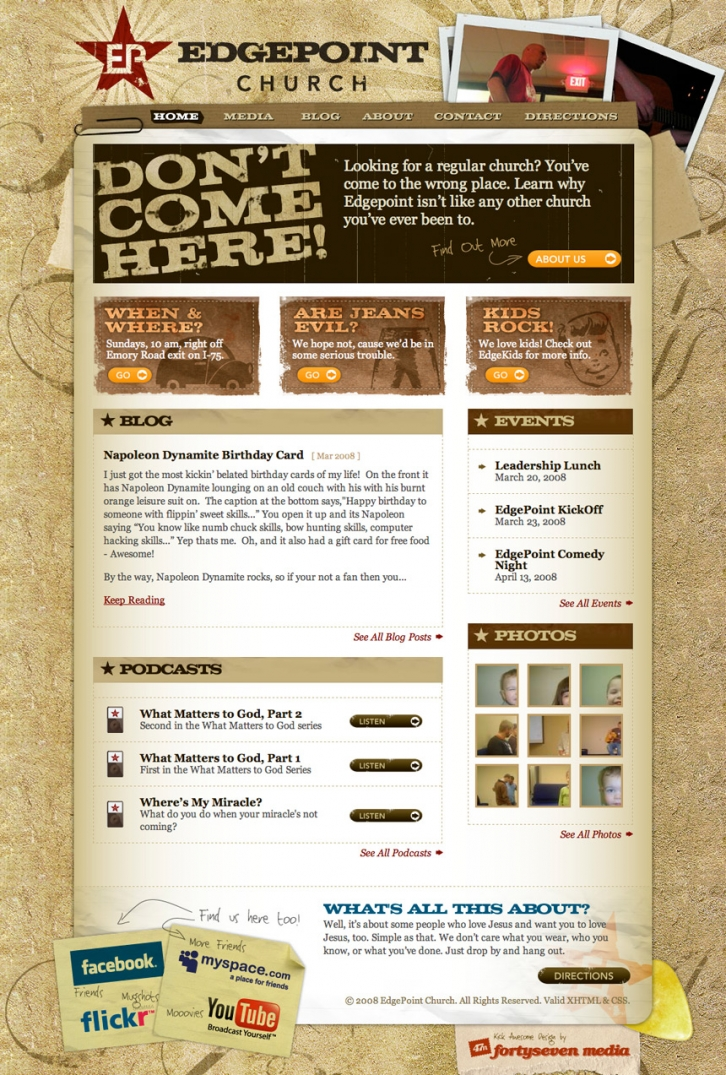 EdgePoint Church Homepage