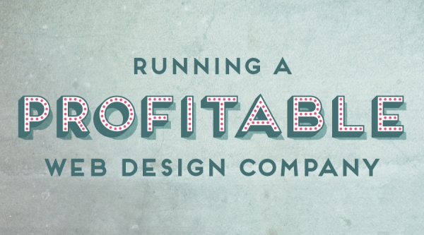 Running a profitable web design company