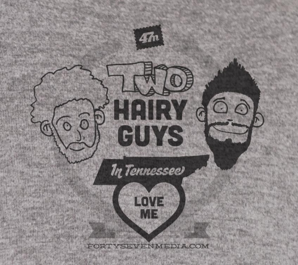 two hairy guys in tennessee love me