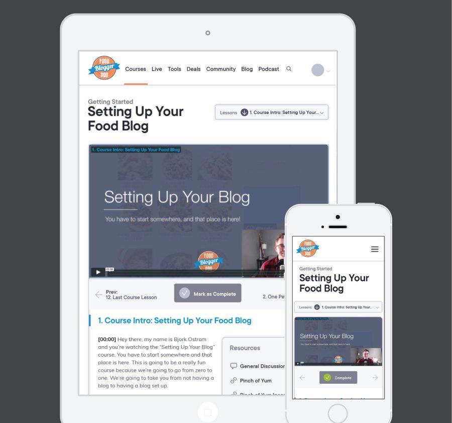 Food Blogger Pro Responsive