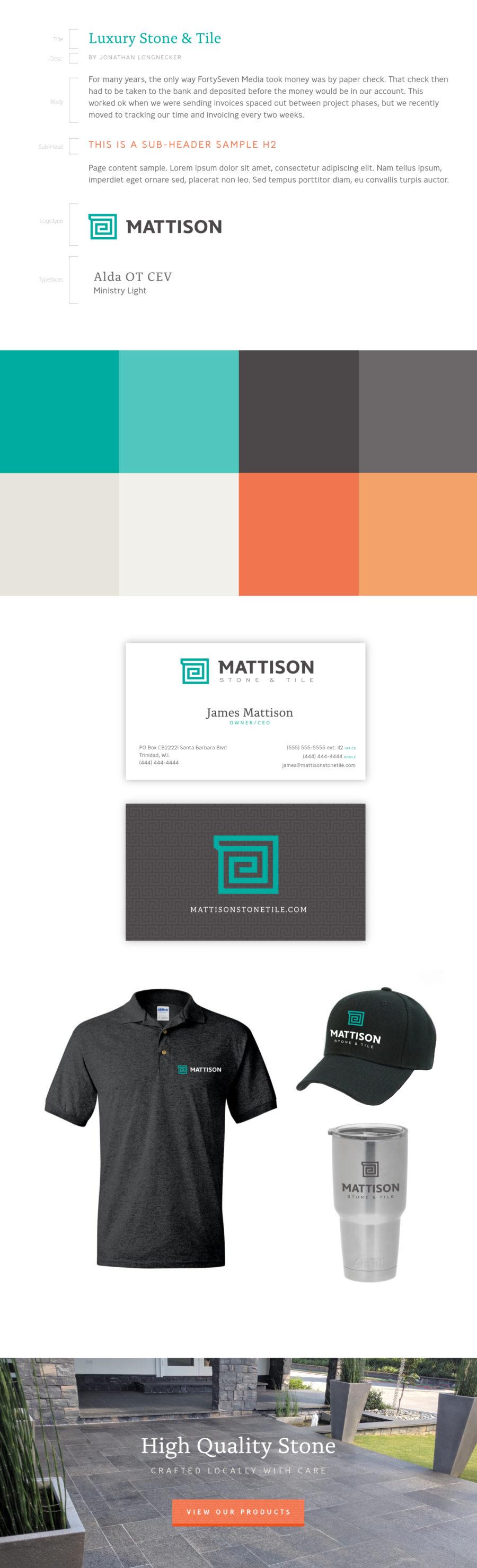 Mattison Branding Book