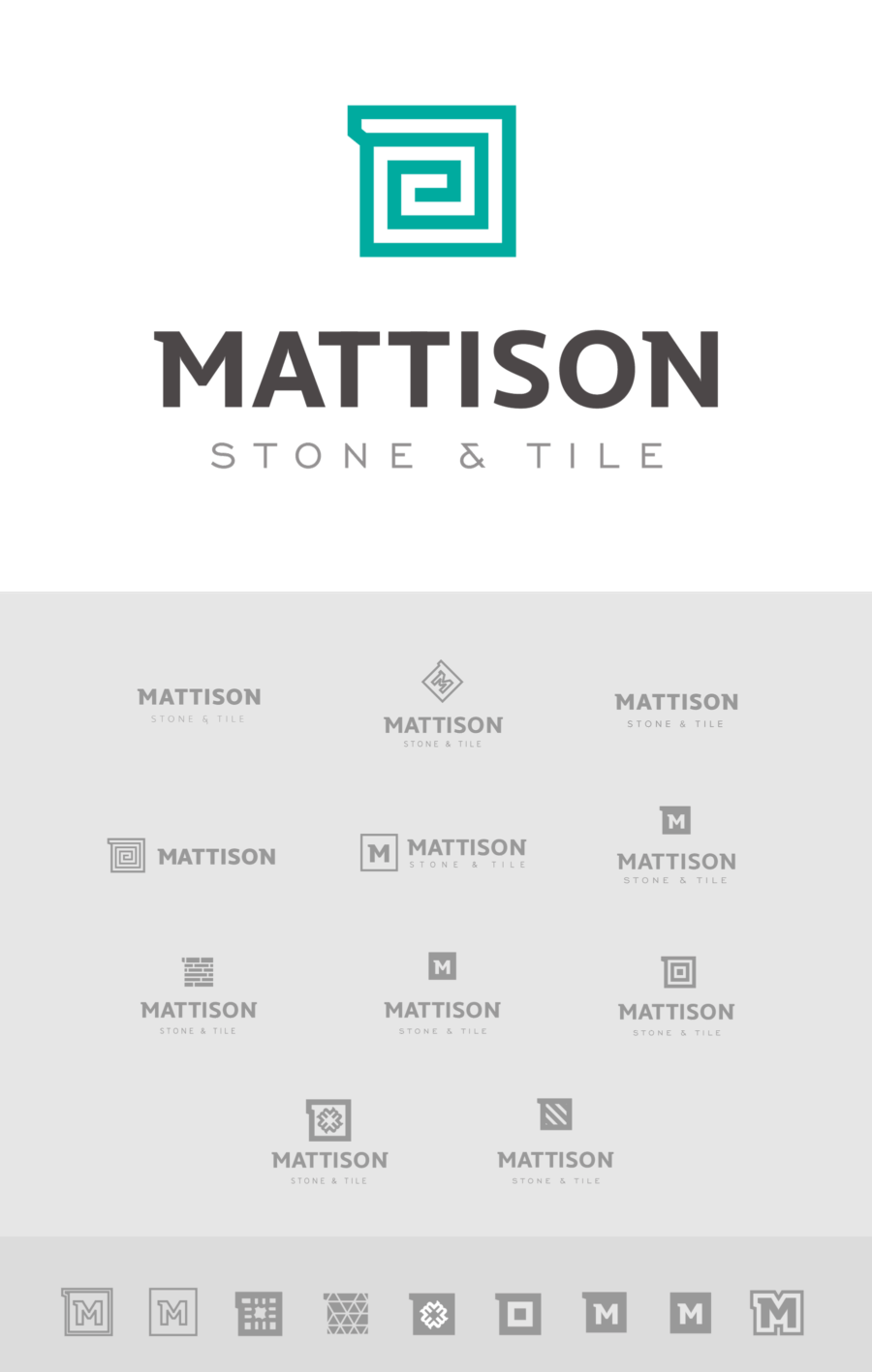 Mattison Logo Ideas