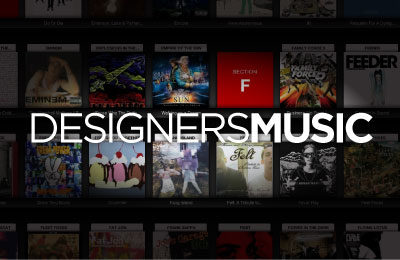 DesignersMusic Web Design