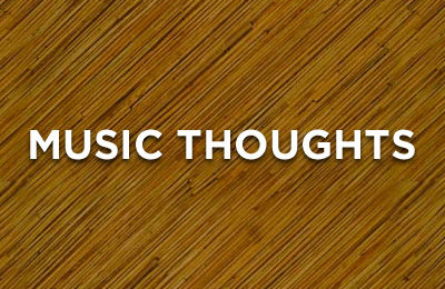 Music Thoughts Web Design