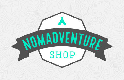 Nomadventure Shop Logo and Website