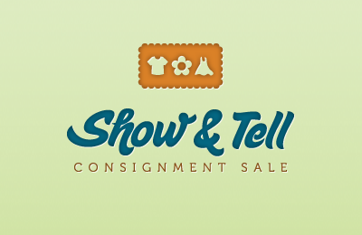 Show & Tell Sale Logo