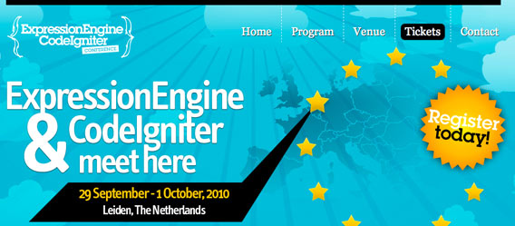 ExpressionEngine and CodeIgniter Conference