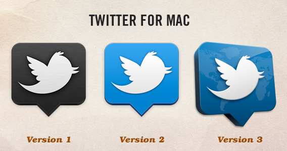 Twitter for Mac Icons