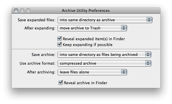 Get Rid of Pesky Zip Files After Unzipping in OS X | Blog