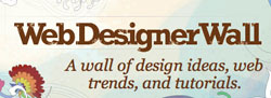 Web Designer Wall - A Wall of Design Ideas, Web Trends and Tutorials